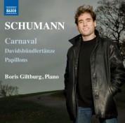 Boris Giltburg: Schumann: Carnaval, Davidsbündlertänze & Papillons - CD