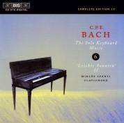 Miklós Spányi: C.P.E. Bach: Solo Keyboard Music, Vol. 6 - CD