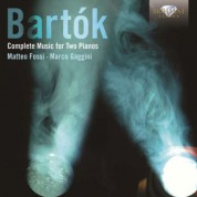 Matteo Fossi, Marco Gaggini: Bartok: Complete Music for 2 Pianos - CD