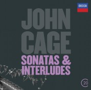 John Tilbury: Cage: Sonatas & interludes - CD
