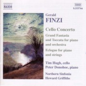 Finzi: Cello Concerto / Grand Fantasia and Toccata / Eclogue - CD