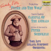 Yoel Levi, Atlanta Symphony Orchestra, Peter Schickele: Prokofiev, Saint-Saens: Sneaky Pete and the Wolf / Carnival of the Animals - CD