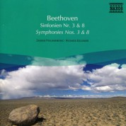 Slovak Radio Symphony Orchestra: Beethoven: Symphonies Nos. 3 and 8 - CD