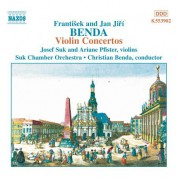 Benda, F. / Benda, J. J.: Violin Concertos in G Major, D Major and D Minor - CD