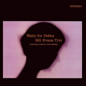 Bill Evans: Waltz For Debby - Limited Edition in Transparent Blue Colored Vinyl. - Plak