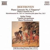 Capella Istropolitana, Stefan Vladar, Barry Wordsworth: Beethoven: Piano Concertos Nos. 2 and 5 - CD