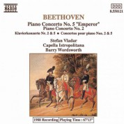 Capella Istropolitana, Stefan Vladar, Barry Wordsworth: Beethoven: Piano Concertos Nos. 2 and 5 - CD
