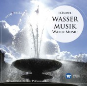 Berliner Philharmoniker, Riccardo Muti: Handel: Water Music - CD