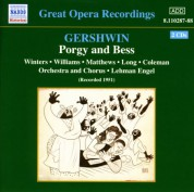 Gershwin: Porgy and Bess (Winters, Williams, Long) (1951) - CD