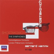 Bernard Haitink: Shostakovich: The Symphonies (Box Set) - CD