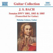 Bach, J.S.: Sonatas, Bwv 1001, 1003 and 1005 - CD