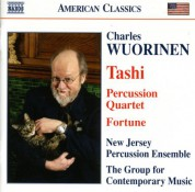 Wuorinen: Tashi / Percussion Quartet / Fortune - CD