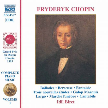 Chopin: Ballades / Fantaisie in F Minor / Galop Marquis - CD