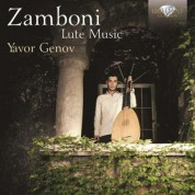 Yavor Genov: Zamboni: Lute Music - CD