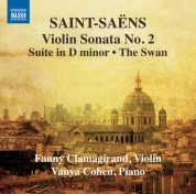 Fanny Clamagirand, Vanya Cohen: Saint-Saëns: Music for Violin and Piano, Vol. 2 - CD