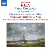 Uwe Grodd, Christopher Hinterhuber, New Zealand Symphony Orchestra: Ries: Piano Concertos Vol. 5 - CD