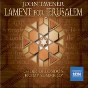 Tavener: Lament for Jerusalem - CD