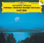 Emil Gilels: Beethoven: Piano Sonatas Nos.  8, 13, 14 - CD