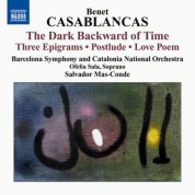 Salvador Mas-Conde: Casablancas: The Dark Backward of Time - CD