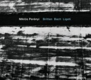 Miklos Perenyi: Britten, Bach, Ligeti: Works for Cello - CD