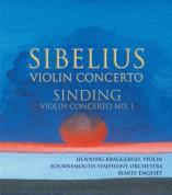 Sibelius: Violin Concerto / Sinding: Violin Concerto No. 1 - CD