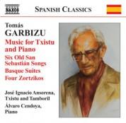 Jose Ignacio Ansorena: Garbizu, T: Music for Txistu and Piano - CD
