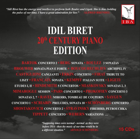 İdil Biret: 20th Century Piano Edition - CD