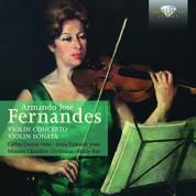 Carlos Damas, Anna Tomasik, Mission Chamber Orchestra of San Jose, Emily Ray: Fernandes: Violin Concerto and Violin Sonata - CD
