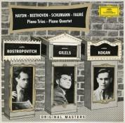 Emil Gilels, Leonid Kogan, Mstislav Rostropovich, Rudolf Barshai: Rostropovich, Gilels, Kogan - Piano Trios - CD