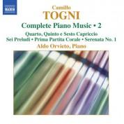 Aldo Orvieto: Togni: Complete Piano Music, Vol. 2 - CD