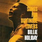 Billie Holiday: Songs For Distingué Lovers + 2 Bonus Tracks! Limited Edition In Transparent Red Colored Vinyl. - Plak