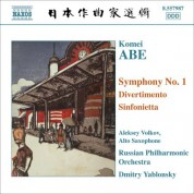 Dmitry Yablonsky: Abe: Symphony No. 1 / Divertimento / Sinfonietta - CD