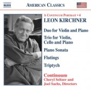 Kirchner: Duo for Violin and Piano / Piano Trio / Piano Sonata / Triptych - CD