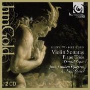 Daniel Sepec, Jean-Guihen Queyras, Andreas Staier: Beethoven: Violin Sonatas Nos.4 & 7, Piano Trios Nos.3 & 5 - CD
