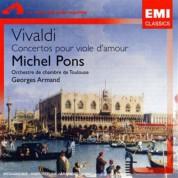 Michel Pons, Orchestre de chambre de Toulouse, Georges Armand: Vivaldi: Concertos Pour Viole D`Amour - CD