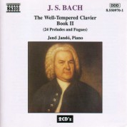 Bach, J.S.: Well-Tempered Clavier (The), Book 2 - CD