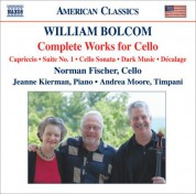 Norman Fischer: Bolcom: Works for Cello (Complete) - CD