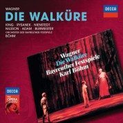 Theo Adam, Karl Böhm, Annelies Burmeister, James King, Gerd Nienstedt, Birgit Nilsson, Orchester der Bayreuther Festspiele, Leonie Rysanek: Wagner: Die Walküre - CD