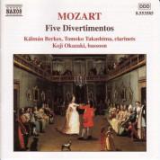 Kalman Berkes, Koji Okazaki, Tomoko Takashima: Mozart: 5 Divertimentos, K. Anh. 229 - CD
