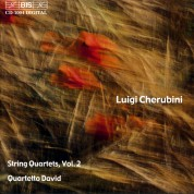 Quartetto David: Cherubini: Complete String Quartets, Vol. 2 - CD