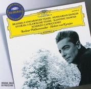 Berliner Philharmoniker, Herbert von Karajan: Brahms/ Dvořák: Hungarian Dances/  Slavonic Dances - CD