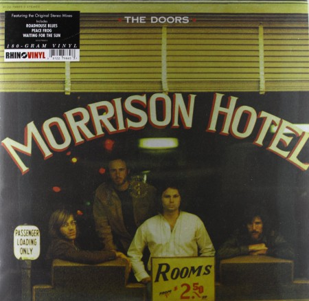 The Doors: Morrison Hotel - Plak
