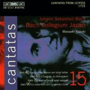 Bach Collegium Japan, Masaaki Suzuki: J.S. Bach: Cantatas, Vol. 15 (BWV 40, 60, 70, 90) - CD