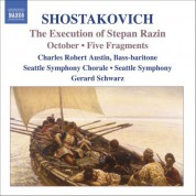 Shostakovich: Execution of Stepan Razin (The) / October / 5 Fragments, Op. 42 - CD