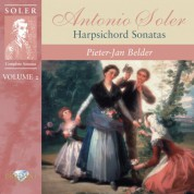 Pieter-Jan Belder: Soler: Complete Sonatas, Vol. 2 (Harpsichord Sonatas) - CD