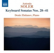 Denis Zhdanov: Soler: Keyboard Sonatas Nos. 28-41 - CD