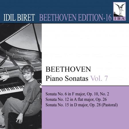 İdil Biret: Beethoven: Piano Sonatas, Vol. 7 (Biret) - Nos. 6, 12, 15 - CD