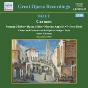 Raoul Jobin, Solange Michel: Bizet: Carmen (Michel, Jobin) (1950) - CD
