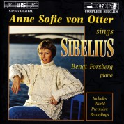 Anne Sofie von Otter sings Sibelius - CD