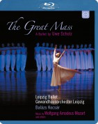 Gewandhausorchester Leipzig, Leipzig Ballet, Balazs Kocsar: Mozart: The Great Mass - A Ballet by Uwe Scholz - BluRay
